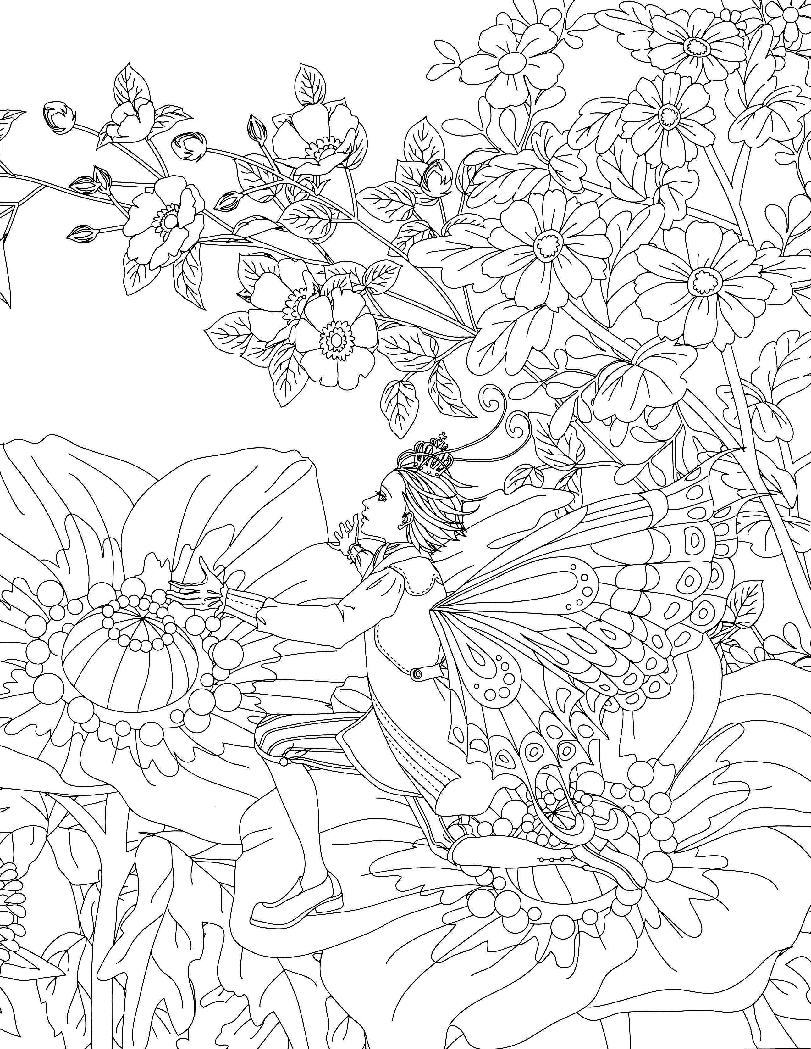 Classic Fairy Tales Coloring Book - Kayliebooks
